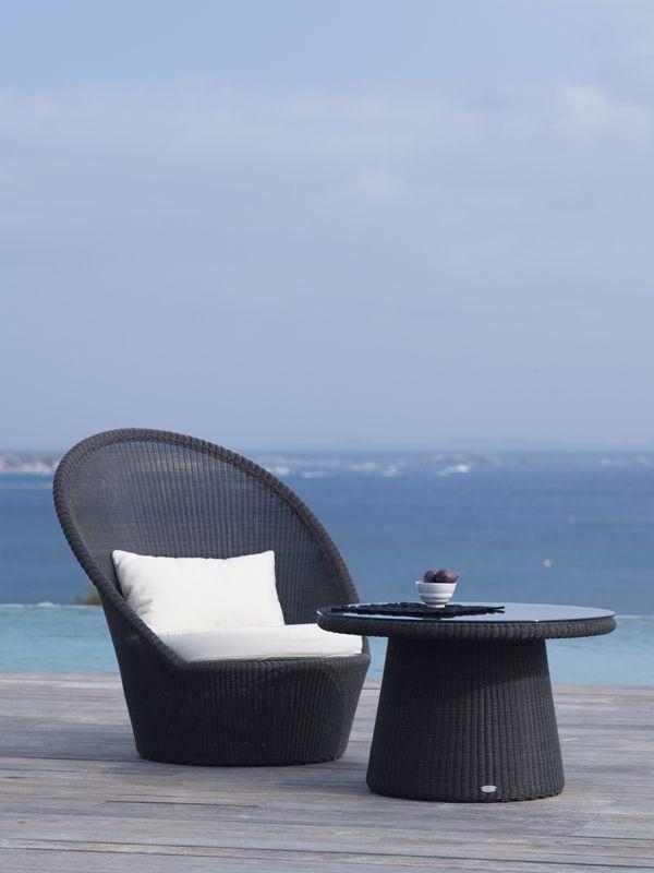 KINGSTON – SUNCHAIR + SMALL COFFEE TABLE