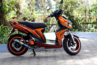 gambar Foto modifikasi motor Mio Soul GT