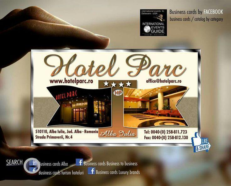 Business cards Alba, Business cards turism hoteluri