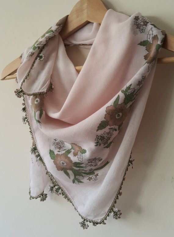 Check out this item in my Etsy shop https://www.etsy.com/listing/276856806/turkish-scarf-cotton-floral-oya-scarf
