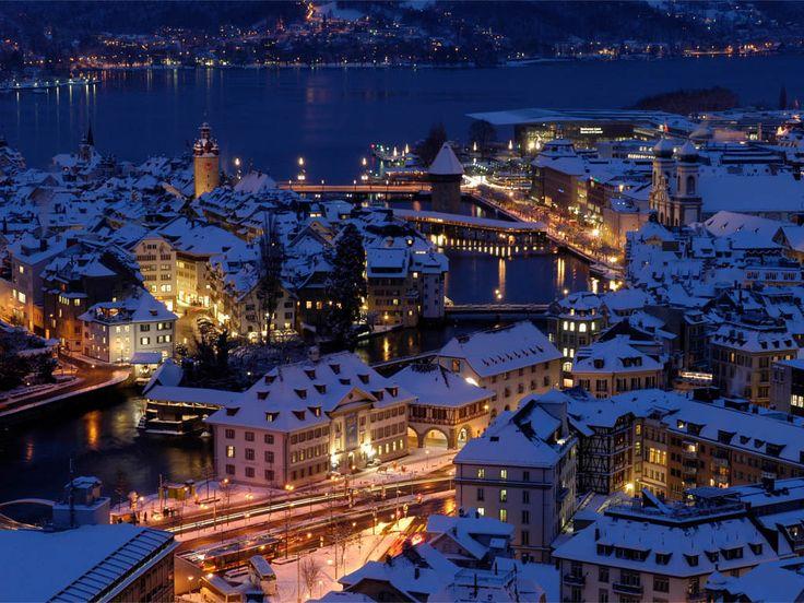 Silvester in der Leuchtenstadt Luzern im Romantikhotel Wilden Mann   Pakete   Schweiz