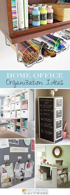 Ideias de organização de casa ou escritório • várias ideias e tutoriais!