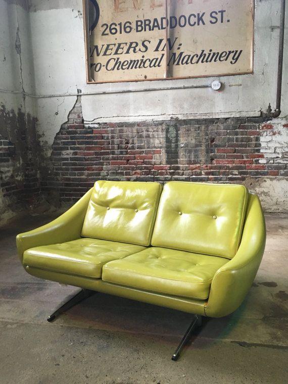 Mid century danish modern sofa John Stuart international Sofa