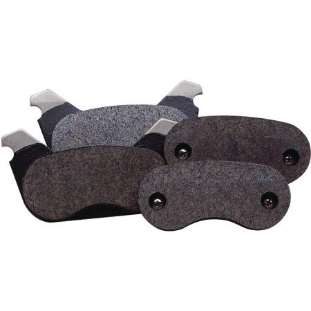 Tie Down Engineering Ceramic Brake Pads With Stainless Steel Backing Plates, Set of 4, Yellow