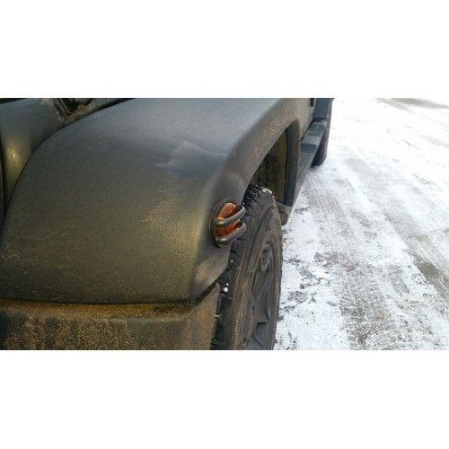 Решетки на боковые поворотники Jeep Wrangler JK