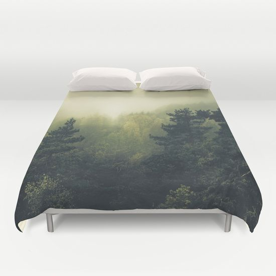 Buy ultra soft microfiber Duvet Covers featuring Forests never sleep by HappyMelvin. Hand sewn and meticulously crafted, these lightweight Duvet Cover vividly feature your favorite designs with a soft white reverse side.