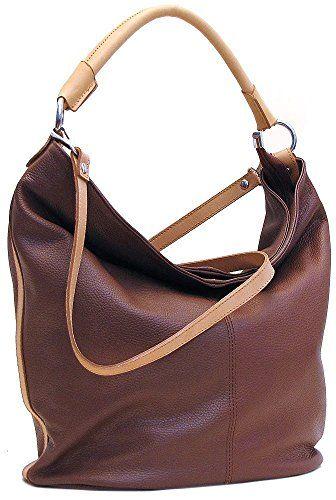 898b572167b63 Floto Sardinia Tote Leather Shoulder Bag in Brown