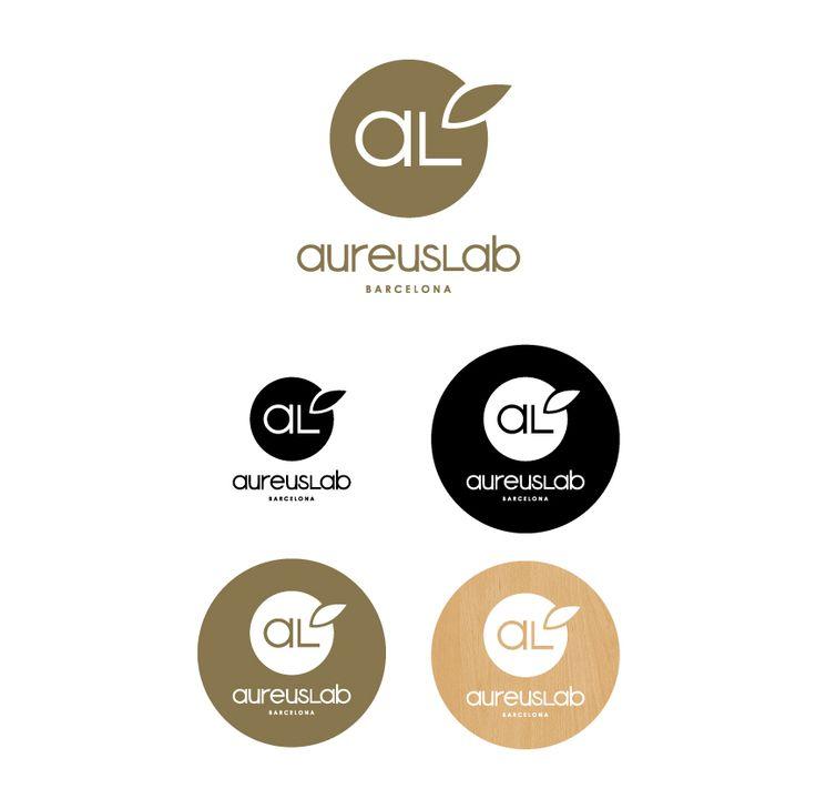 Rediseño de logotipo para AureusLab - marca de cosmética natural | República dominicana - Barcelona