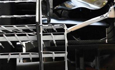 Gp Brasile: la Mercedes simula laerodinamica 2017