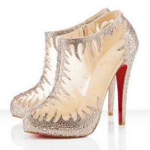 Love!: Shoes, Fashion, Style, Ankle Boots, Heels, Christian Louboutin, Bling Bling, Louboutin Maral, Christianlouboutin