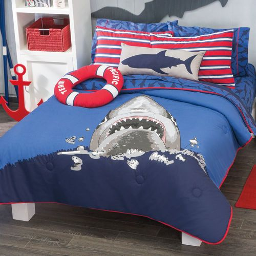 cool bed sheets for teenagers. boys and teens twin full size shark comforter set cool bed sheets for teenagers
