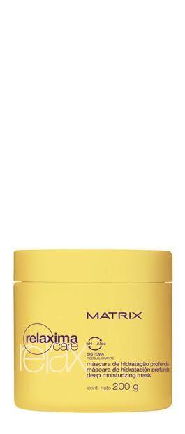Relaxima Care Máscara de Hidratação Profunda - cuidado extra ao cabelo relaxado