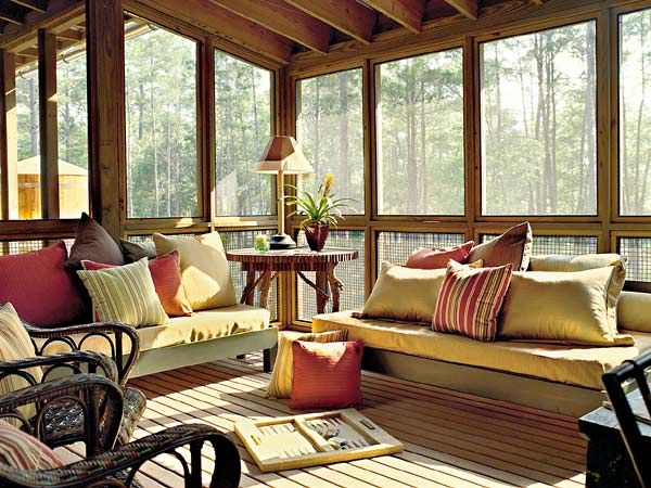 Screened porch west bay idea house Screened in porch decor
