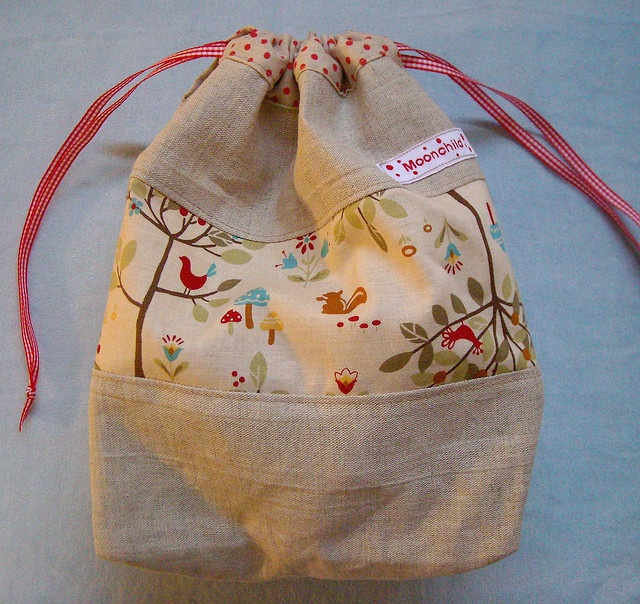 Forest Friends Carry Sack by moonchild studio