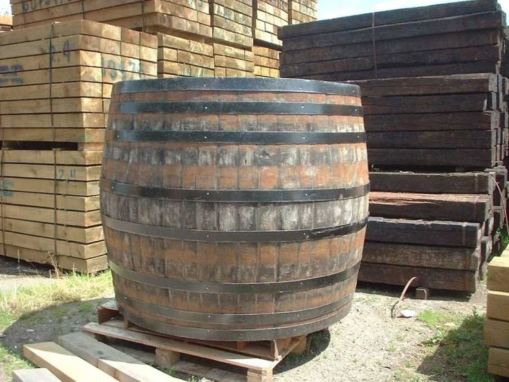 Amazing Wooden Beer Barrel For Sale #4: The Largest Wooden Barrel In The World, 8.5 Metres Wide By 7 Metres High,  Can Be Found In Heidelberg Castle In Germany. It Was Made In 1751 From 130  .