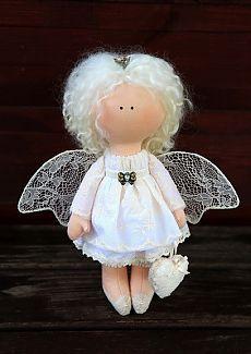 """Кукла Ангел-хранитель: продажа, цена в Запорожье. авторские игрушки ручной работы от """"Галерея авторских работ """"Волшебный мир"""""""" - 96160795"""
