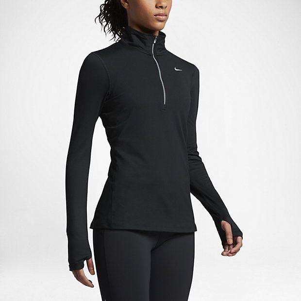 Nike Dry Element - langærmet løbeoverdel til kvinder