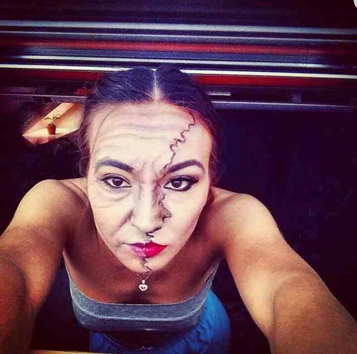 Cristina Camarzan makeup artist Brasov Beauty Lounge Halloween makeup