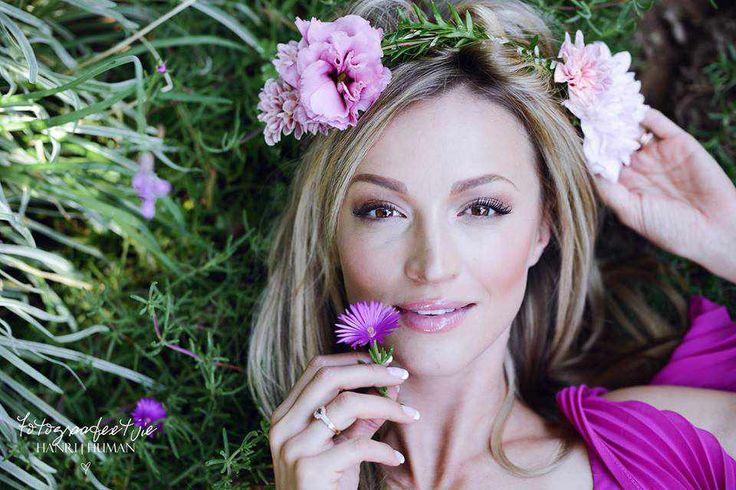 Bride In Bloom: Soft Pink Flower Crown. Wedding Flowers - designed by www.jbwebconcepts.co.za