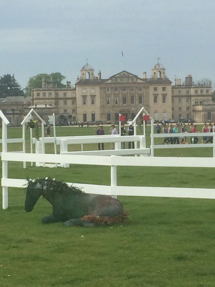 Lyla's sculpture of Ronnie World Horse Welfare at Badminton Horse Trials 2016
