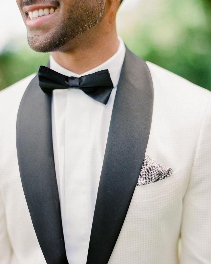DETAILS  Real groom @mr416blanco in a custom made tux by @NBMen on his big day!   Pictures by @artiesestudios  #GroomInspiration #Groom #GroomsMan #GroomsMen #BlackTux #BlackTie #LondonWedding