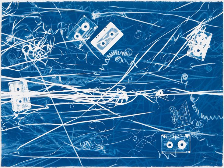 Christian Marclay GS 1482. Untitled, 2007–2008. Unique cyanotypes