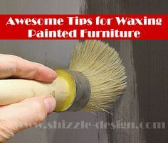 easiest way to wax painted furniture best wax American Paint Company Shizzle Design Michigan