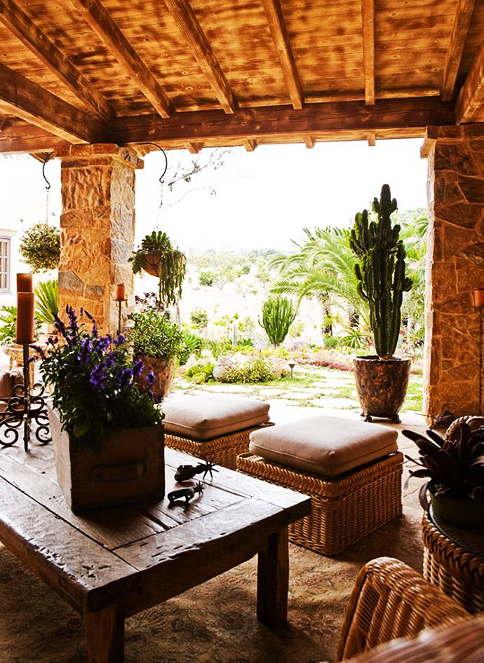 85 best hacienda homes images on pinterest haciendas for Mexican porch designs