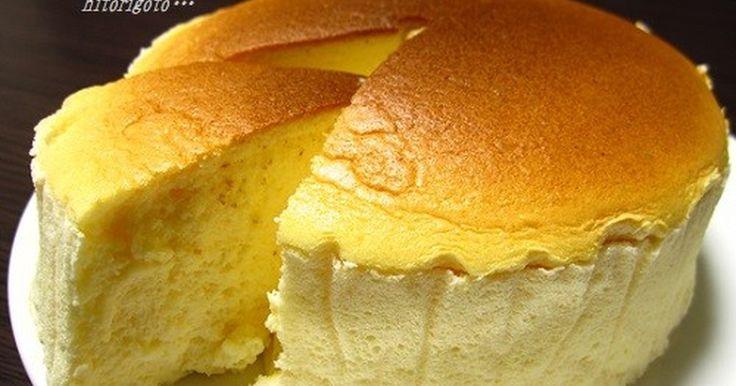 生クリーム不要でいつでも手軽に作れます。フォークを入れるとシュワっと音が♪ 甘さ控えめなのでチーズの風味が良く広がります