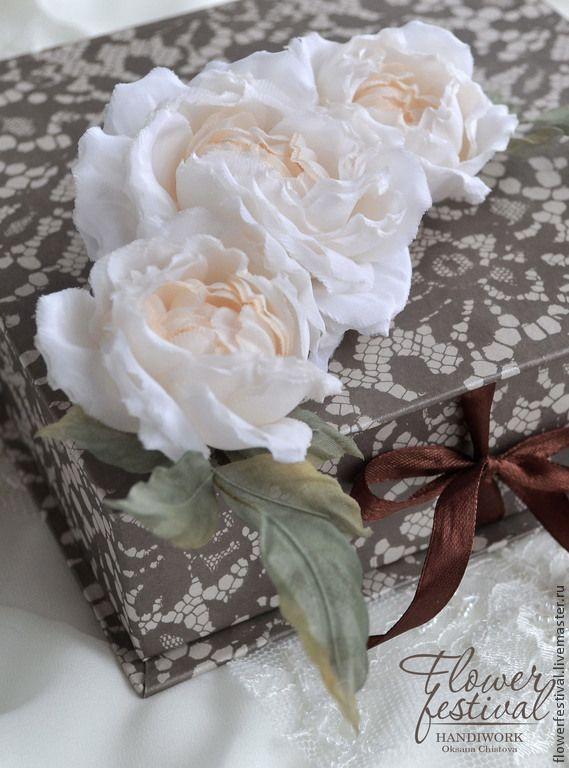 Xix купить цветы из шифона ручной работы