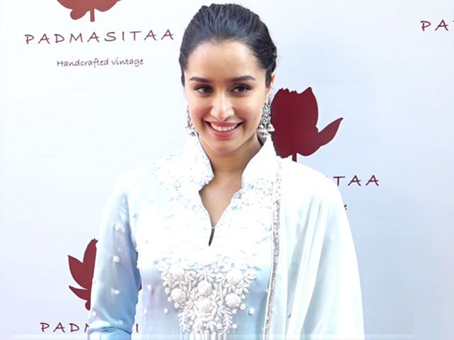 Shraddha Kapoor Launches Padmini Kolhapure's Label