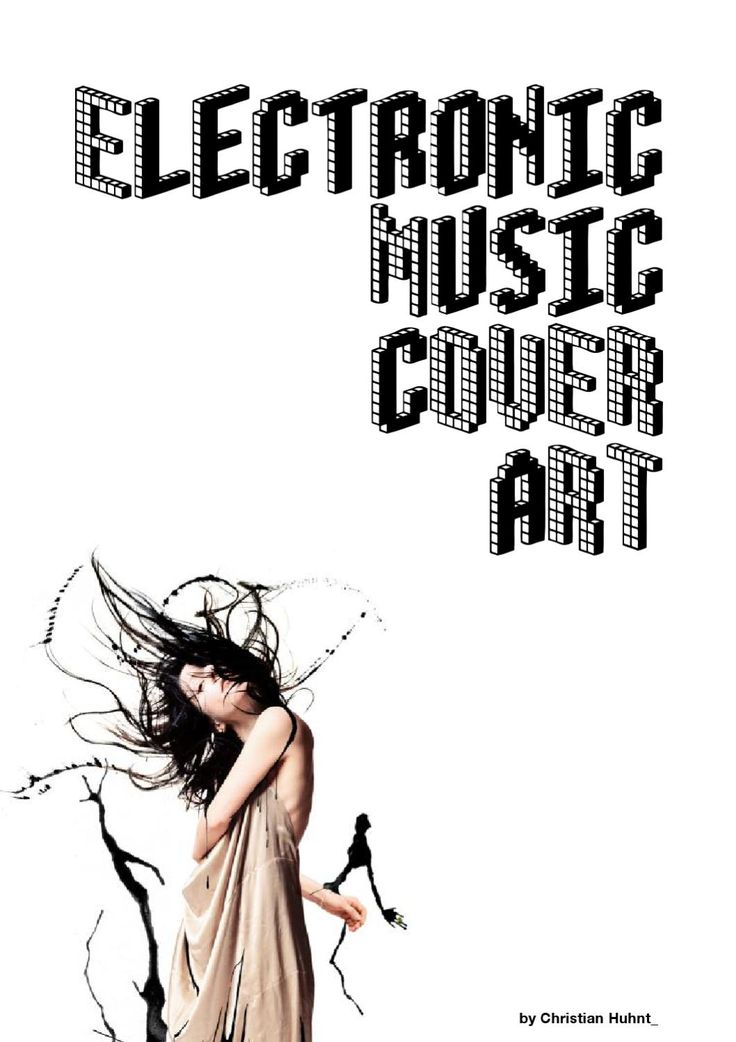 Electronic Music Cover Art  A booklet about cover art in electronic music. With…