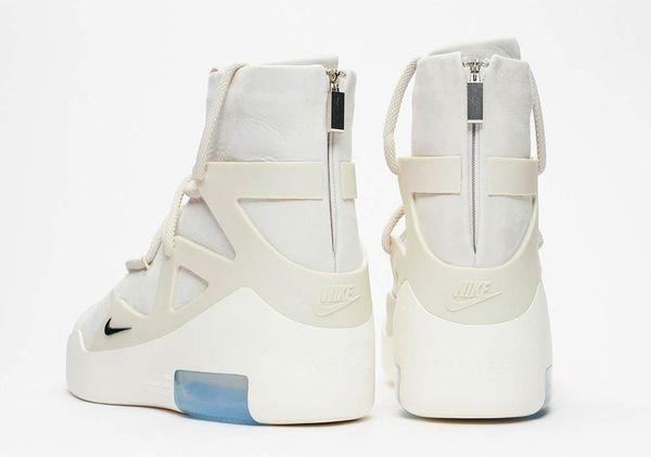 Nike Air Fear Of God 1 Light Bone Ar4237 002 Sneakers The Human
