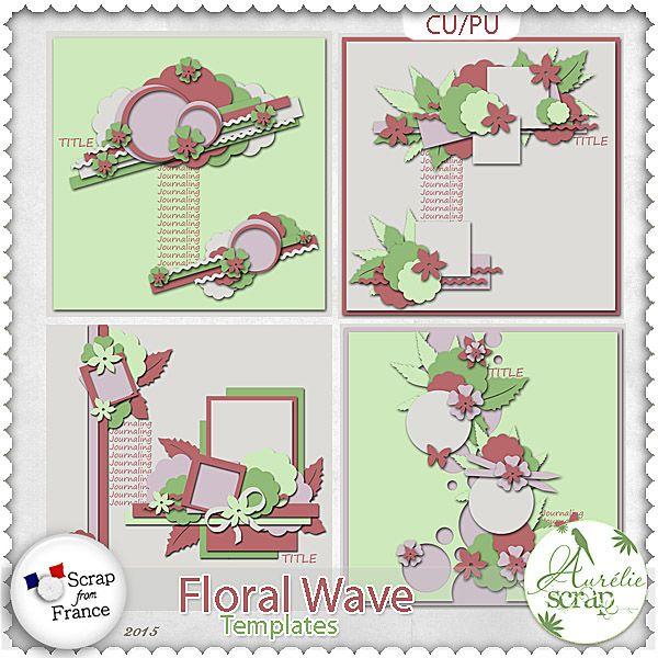 Floral Wave - Templates