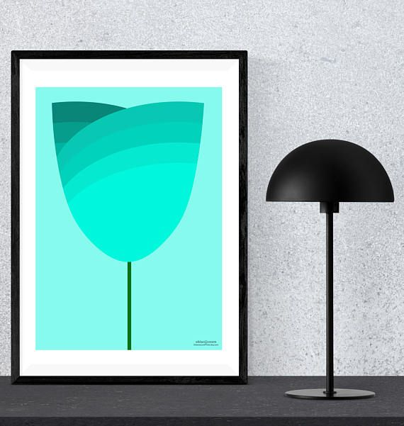 Designed with contemporary décor style in mind, this oversized lotus flower draws its inspiration from ancient Egyptian designs but it's firmly grounded in the 21st Century.  It's retro appeal comes from the minimalist shape and the fun, bright colours available, making it a very
