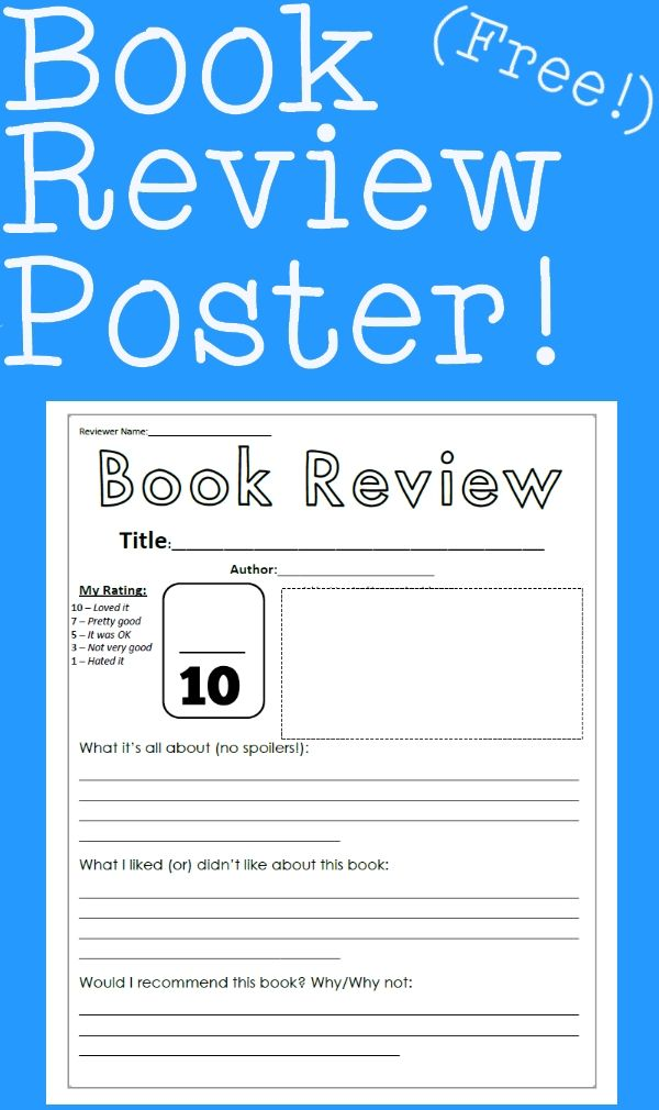 Best 25+ Book review template ideas on Pinterest Book reviews - book report template for high school