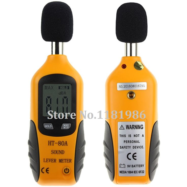 2017 HT-80A Mini Portable Size Sound Level Meter LCD Digital Screen Display Noise Tester Noise Decibel Monitor Pressure Tester