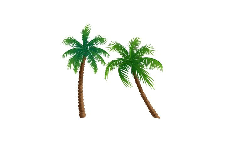 Palm Tree Vector Image #palmtree #summer #cocktails http://www.vectorvice.com/summer-cocktails-pack