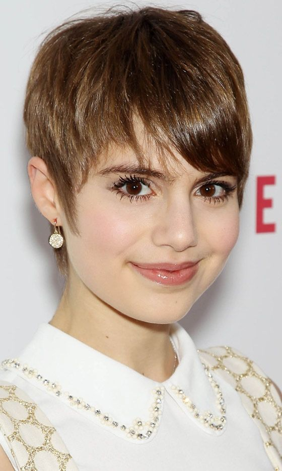 Celebrities con cabello corto al estilo Twiggy  Sami Gayle is relatively unknown…