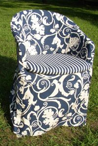 Resin Patio Chair Cover - one of these days I'll have enough time to do this (I hope).