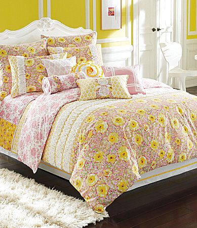I Really Want Pink And Yellow For My New Bedding But So