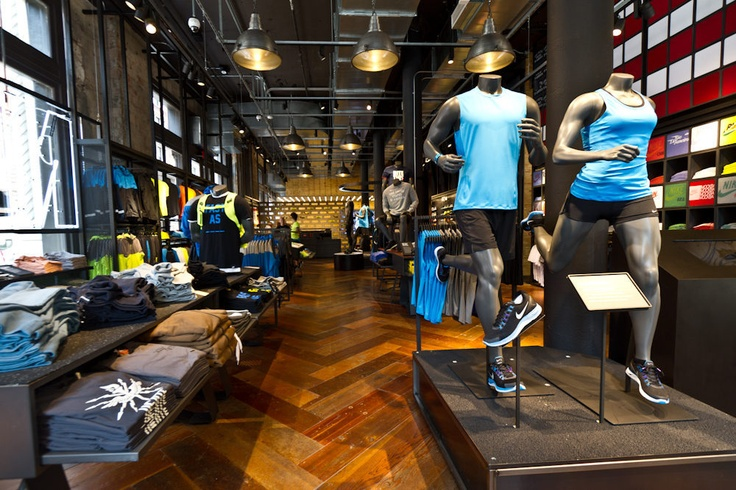 Nikes Biggest Running Store, in the Flatiron District