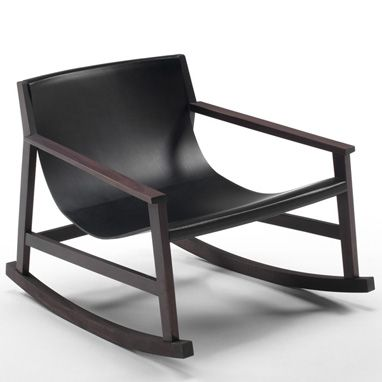 Dondolo Rocking Chair by Piero Lissoni - 2009    #rocker #rocking @Living Divani