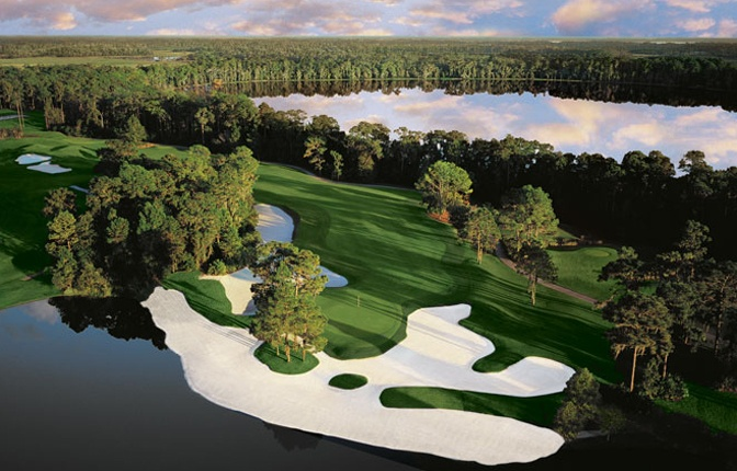 Lake Nona.  Went on a guys trip here.  Rented a house frat boy style.  I killed it on this course and saw Annika Sorenstam (in her salad days) on the range