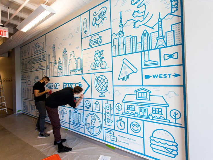 wall murals for office. Explore Our Roundup Of The Latest, Greatest Office Wall Murals. Find Artwork Inspiration Today At DESIGN. Murals For