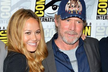 will patton comicCon 2012 -with Moon Bloodgood