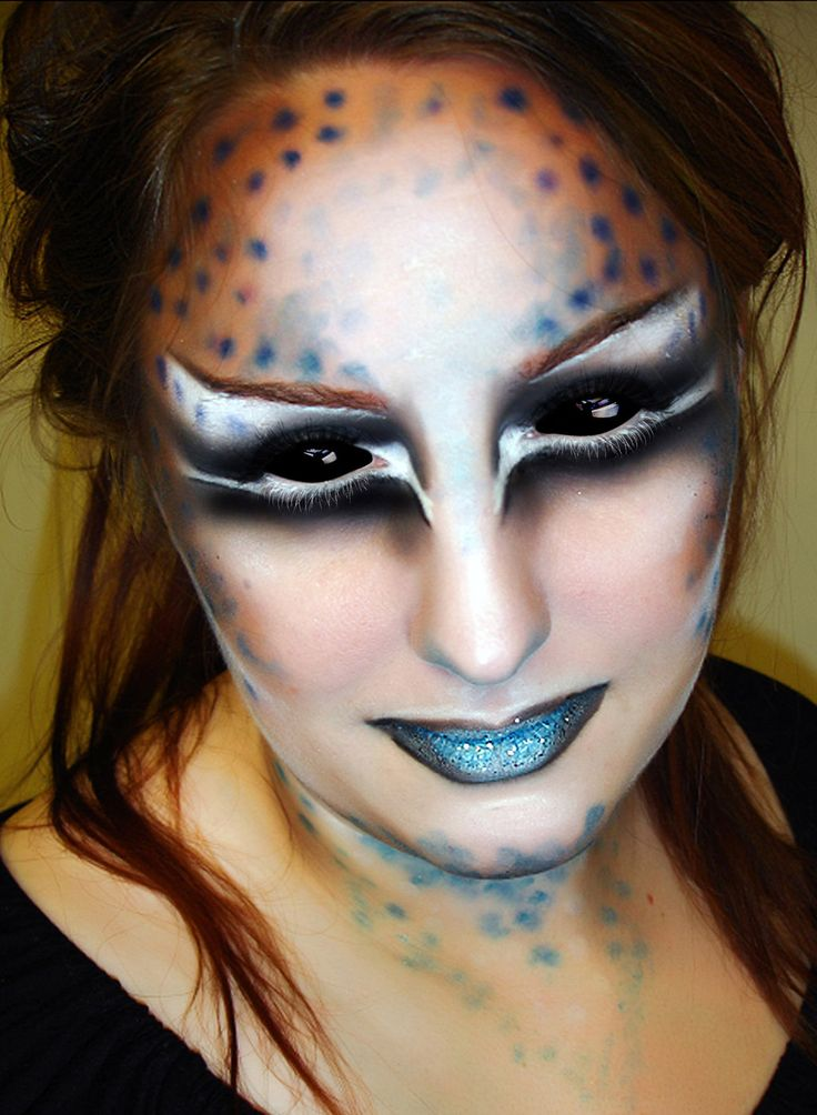 alien makeup prosthetics mugeek vidalondon. Black Bedroom Furniture Sets. Home Design Ideas