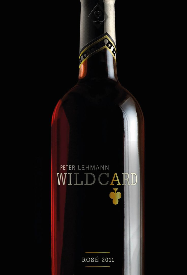 Wildcard. Rose Wine. Brand mark. Logo. Packaging. Designed by White is Black.