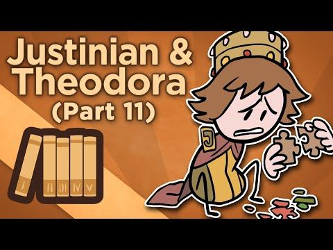 Together, Justinian I and Theodora ruled the Byzantine Empire. Hear the tales of their adventures from Extra Credits!