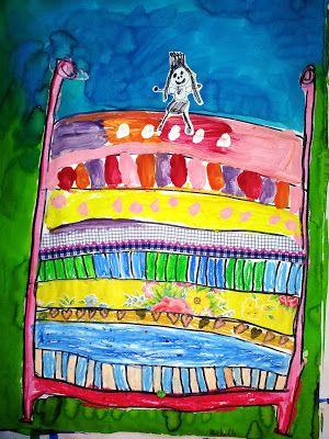 Prinzessin auf der erbse basteln  116 besten Prinzessin auf der Erbse Bilder auf Pinterest ...